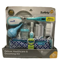 Safety 1st Deluxe 25 Piece Baby Healthcare And Grooming Kit Arctic Blue