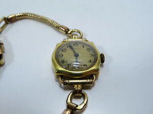 Antique Longines - Ladies Rolled Gold - Bracelet Style Strap - Elegant Watch