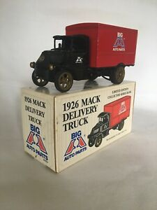 Ertl Limited Edition 1926 Mack Delivery Truck Collectible Bank