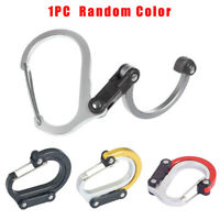 Water Bottle Holder Clip Carabiner Hook Buckle Outdoor Camping Hiking Tackle New