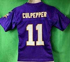 J255 NFL Minnesota Vikings Daunte Culpepper #11 Jersey Youth Medium 10-12