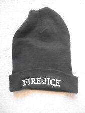 FIRE & ICE beanie hat sxe hxc down to nothing turnstile nails code orange kids