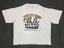 Vintage Pittsburgh Penguins T Shirt 91 92 Stanley Cup Champs Size XL 90s NHL