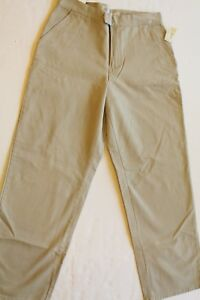 American Eagle Womens Petite Size 8 Low Rise Khakis Striaght Leg - New With Tags