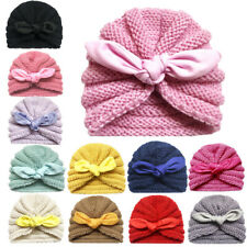 Knitted Winter  Newborn Baby Hat Bonnet Enfant Beanie Turban Hats Cap Accessory