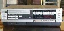 Vintage Sanyo 4500 Beta Vcr 1984 Betamax Betacord color video cassette recorder