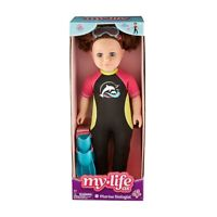 "My Life as a Marine Biologist Brunette 18"" Poseable Doll VHTF Sold out"