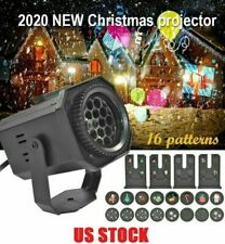Christmas Halloween Holiday LED Laser Light Projector House Landscape US Stock