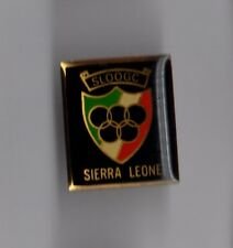 Pin's jeux olympiques / SLOOGC Sierra Leone Olympic.and Overseas Games Committee