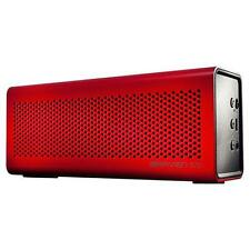 Dock audio e altoparlanti rosso per cellulari e palmari