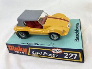 Meccano Dinky Toys Beach Buggy 277 Diecast Metal Model Boxed Vintage 1974 N197