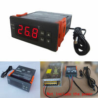 Digital Temperature Controller Thermostat -40-110℃ W/ Sensor 12V 24V 110V 220V