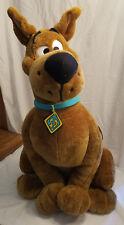 "Extra Large Scooby Doo Dog Plush Toy 25"" Tall Hanna-Barbera TV Show"