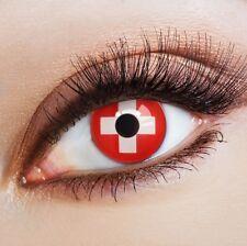 aricona Farbige Kontaktlinsen Schweiz Fußball Fanartikel Karneval FUN Motivlinse