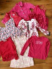 Girls Size 6 - 7 Pink Pink Pink Lot Bardot Fred Bare Esprit Roxy Plus More