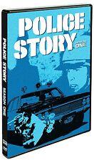 POLICE STORY: SEASON ONE (Dane Clark) - DVD - Region 1 Sealed