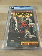 Amazing Spider-Man 144 CGC 9.0 WHITE