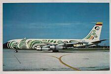 Vintage Postcard Ecuatoriana Airlines Ecuador Boeing 720 airplane (Mary Jayne's)