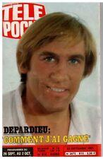 ▬►Télé Poche 815 (1981) DEPARDIEU_FRANK ZAPPA__DOROTHÉE_MOTO GNOME et RHONE