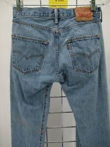 L0686 VTG Levi's 501 Women's Button-Fly Denim Jeans Size 28x32