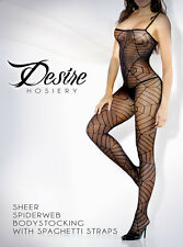 Fantasy Lingerie Black spiderweb bodystocking