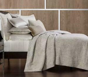 Hotel Collection Pebble Diamond King Comforter Beige $485