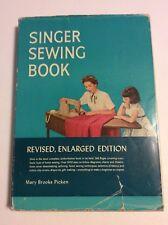 Vintage 1953 SINGER Sewing Book Mary Brooks Picken Hardcover Hardcover HB DJ