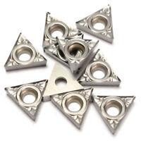 Aluminum Carbide Inserts Turning TCGT21.51 TCMT1102 10Pcs TCGT110204-AK H01