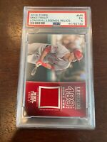 2018 Topps Longball Legends Relic MR Mike Trout [PSA 5] #003/100