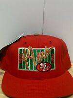 Vintage San Francisco 49er's Snapback Hat Gridiron Collector's Series By The Gam