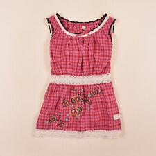 Odd Molly señora blusa camisa top blouse talla 2 (de 36) a cuadros 914 multicolor, 73735