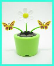 Solar Dancing Flower Butterfly Novelty Collectible Toy Figurine **Fast Ship**№01