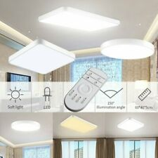 Led Ceiling Light Surface Mount Round Home Fixture Bedroom Daylight Lamp 20 72w