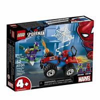 LEGO Marvel Spider-Man Car Chase 76133 Building Kit (52 Piece), Multicolor Set