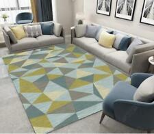 3D Triangle Splice Green Non-Slip Rug Door Shower Play Mat Hearth Floor Carpet 8
