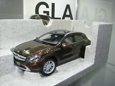 1/18 Scale NOREV MERCEDES GLA METALLIC BROWN DEALER EDITION
