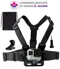 Harnais de Fixation Poitrine pour GoPro Hero 2/3/4 Réglable, livraison 2 jours