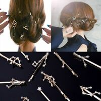 2PCS Hair Clip Bride Hair Pins Twelve Constellations Hairpin Hair Jewelry