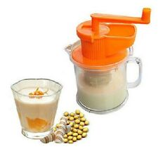 New Hand Operated Kitchen Soy Milk Soymilk Juice Grinder Maker Machine 400ml