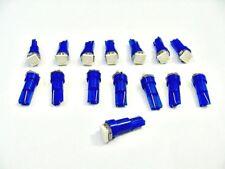 15 BRIGHT Blue Mopar Wedge Instrument Panel Cluster Dashboard Lights Bulbs LEDs
