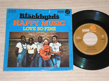 "THE BLACKBYRDS - HAPPY MUSIC / LOVE SO FINE - 45 GIRI 7"" GERMANY"