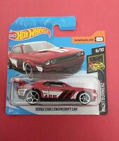 HOT WHEELS - DODGE CHALLENGER DRIFT CAR - SHORT CARTE - FYF83 - R 5691
