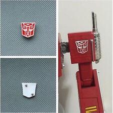 Set of 2 Transfor Metal Autobot Logo Symbol for Weijiang MPP10 Optimus Prime
