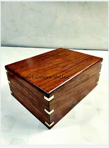 Small Wooden Cremation Urns for Human Ashes Adult Funeral Cremation Urn for Pets