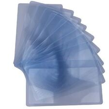 Ten Piece Wallet Sized Credit Card 3X Magnifier Magnifying Fresnel Lens
