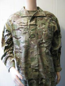 British Army MTP Lightweight Combat Jacket Zip Front Shirt Camo Military Surplus