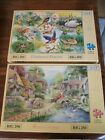 hop 250 large piece jigsaws puzzles 2x river cottage feathered friends complete