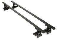 Roof Bars Rack 75KG Model Custom Direct fits VW Polo MK4 inc Fun 3/4/5 Dr 01-09