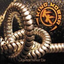 Legends Never Die 5413992511181 by King Kobra CD