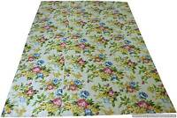 Indian Cotton Kantha Quilt Bohemian Bedding Twin Size Floral Print Blanket Throw